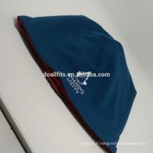 Deux côtés couleur collocation de mode tricoté chapeau bon prix fabriqué en Chine