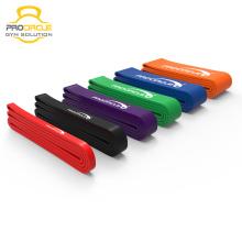 Conjunto de banda de resistencia de ejercitador colorido Venta superior