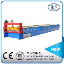 Máquina formadora de rolos de telha de aço para telhado / parede
