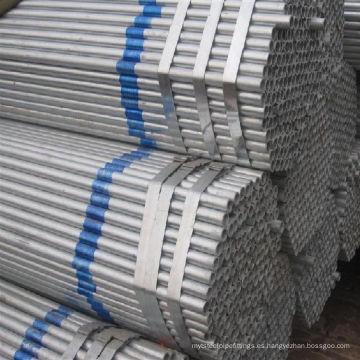 Tubo de acero con zinc