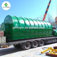 traitement des déchets pour recycler les déchets de pneus à l'huile font la machine de pyrolyse de mazout