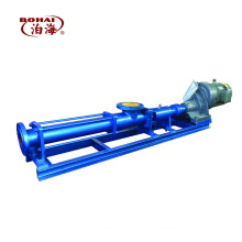 Hot Sale High Viscosity G Series Single Screw pump for Food