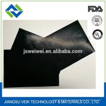 Feuille de téflon de couleur noire en 0.32mm d'épaisseur