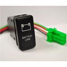 Marca de grabado láser con luces 2LED Interruptor de botón para Toyota