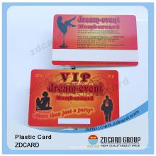 Kunststoff PVC Facebook ID Karte