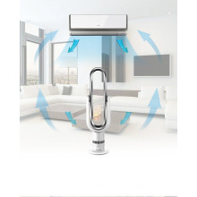 Liangshifu Aparato electrodoméstico Pantalla táctil de 18 pulgadas Ventilador eléctrico sin aire con circulación