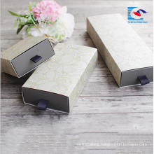 OEM custom handmade paper cardboard wholesale soap box with gold silver foil stamping