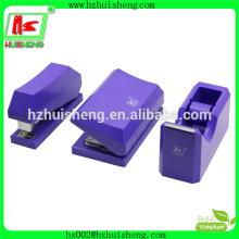 Agrafeuse de papeterie en gros + perforateur + distributeur de bande 3 en 1 agrafeuse