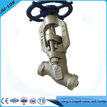 Y-globe type globe valve pn16 manufacturer