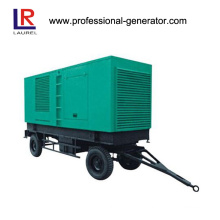 Movable Trailer Type Diesel Generator with Cummins Engine