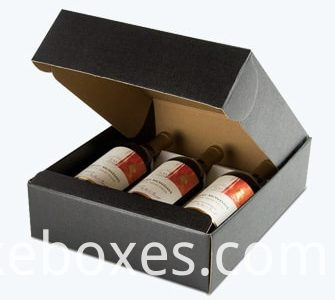 Corrugated Wine Packaging Folding Box 335x300