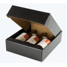 Custom Corrugated Tuck Folding Wine Paper Packaging Box