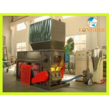 Arbre simple en plastique et broyeur de décalage de Doube / broyeur en plastique dur / broyeur de pneu