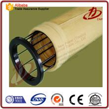 Fabric filter media bags