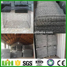 Alibaba China Hot Dipped Galvanized river bank protect gabion basket/gabion box