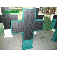 Дисплей светодиодный крест (ЛС-ПК-Р20-48х48)