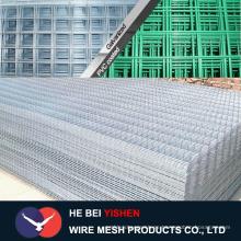 Paneles de malla de alambre galvanizado precio barato / Paneles de cerca de alambre soldado fabricación