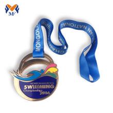 Купить бронзовую спортивную медаль плавательная медаль