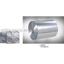 Folha de alumínio farmacêutica