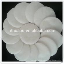almofadas de algodão orgânico descartável de alta qualidade