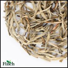 Estándar de la UE Súper Grado Té de Hojas Sueltas Flor de Jazmín Aguja de Plata Perfumada Té Punta Blanca Aguja de Plata (Bai Hao Yin Zhen)