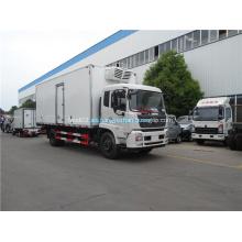 Dongfeng congelador camión caja 4x2 camión refrigerado