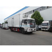 Dongfeng freezer box caminhão 4x2 caminhão refrigerado
