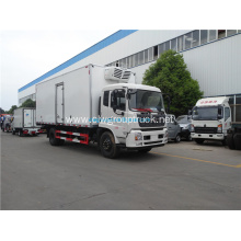 Dongfeng freezer box truck 4x2 refrigerated truck for sale