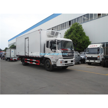 Dongfeng freezer box truck 4x2 refrigerated truck