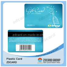 PVC Magnetic Stripe Membership Card