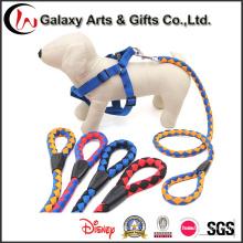 Альпинистская веревка поводок собаки веревочки полиэфира Cusotm крупных пород поводок для продажи