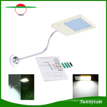 Réverbère solaire de mur de sonde solaire de lampe de jardin 12 LED ultra-mince imperméable