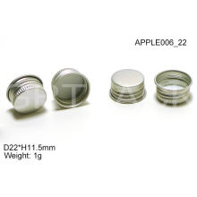 Eco Friendly H11.5mm Aluminium Bottle Caps For Color Cosmetics Lip Gloss Container