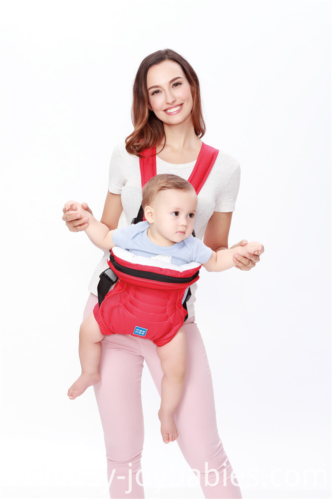 Adjustable Mesh Cool Wrapping Baby Carrier