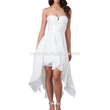 Color de encargo del diseño de la manera Color más el vestido de coctel del tamaño para la señora gorda