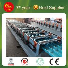 10% de desconto na venda quente 840/900 Máquina formadora de rolos de camada dupla em estoque