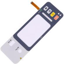 Teclado de goma de silicona para control remoto de TV
