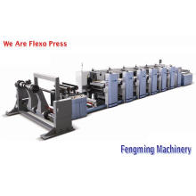 Roll-Roll флексографический принтер