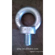 Acier forgé galvanisé levage boulon à oeil DIN580