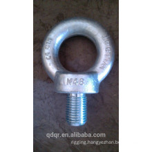 Galvanized drop forged lifting eye bolt DIN580