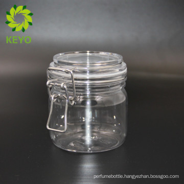 300ml empty packaging cosmetics skin care cream use clear cosmetic plastic jar