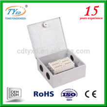 électrique 3 12 24 voies boîte de panneau de distribution