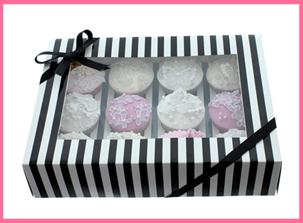 window cake box