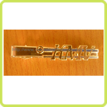 Gold Plating & Customized Metal Tie Clip (Hz 1001 H001)