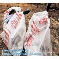 PE Asbestos packaging bags, heavy duty extra-large polythene bags, asbestos disposal bags