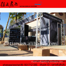 outdoor/indoor aluminum truss display, design exhibition stand display