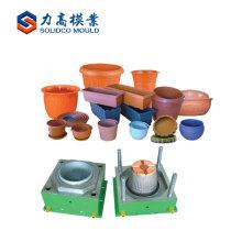 Molde plástico del producto de jardín de la fuente del fabricante de la cesta / molde de la maceta de la inyección de la flor