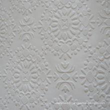 Tuiles de plâtre en PVC blanc laminé (N ° 256)
