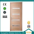 Porte d'entrée en bois pour projet de villa (WDHO40)