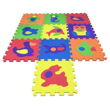Melors+EVA+Puzzle+Foam+Interlocking+Kids+Mat+Baby+Play+Mat